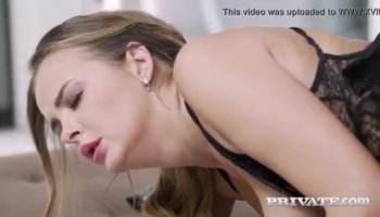 Babe and lusty older received pussy drilling
