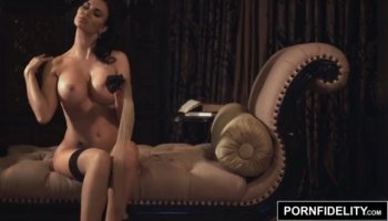 Amber Heard naked in The Informers